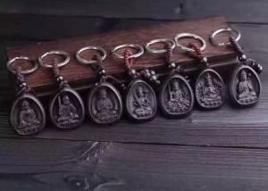 十二生肖本命佛 - 護身鑰匙扣