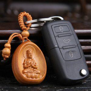 【屬羊屬猴本命佛】大日如來護身鑰匙扣